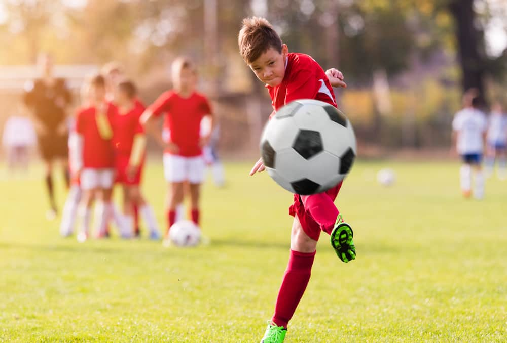 Advanced techniques for kicking a soccer ball
