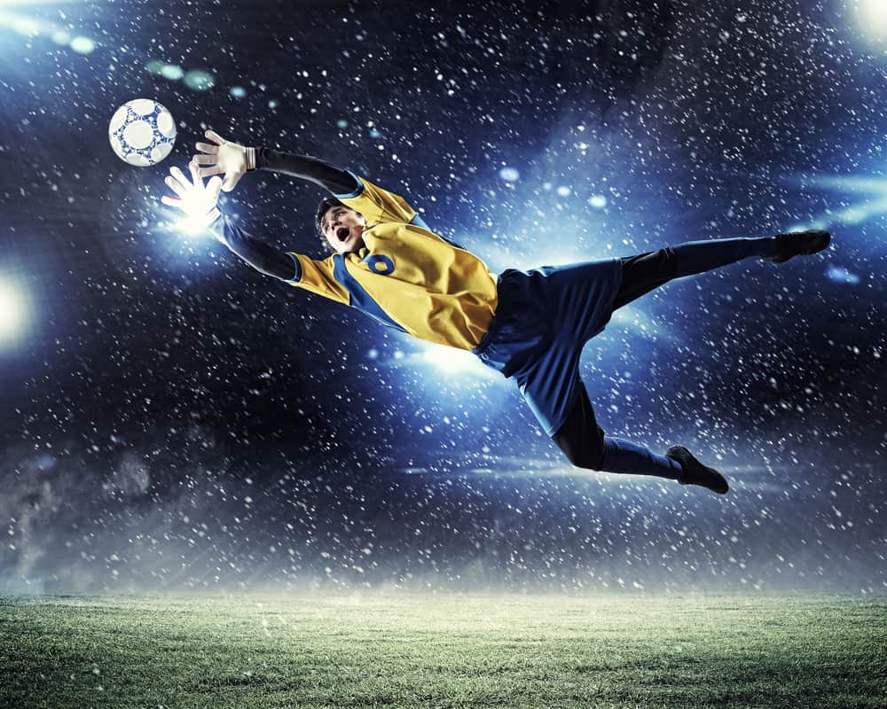 Our top tips for soccer goalies