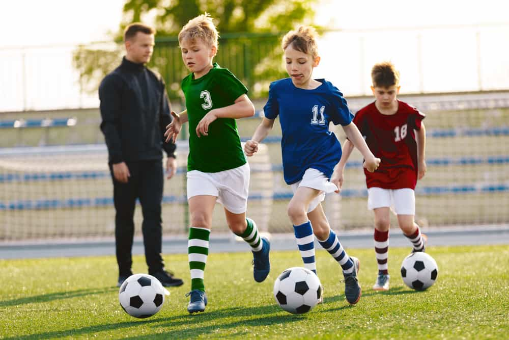 dribbling tricks keep your head up